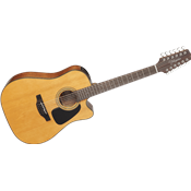 Takamine GD30CE-12NAT - dreadnought cutaway electro 12 cordes