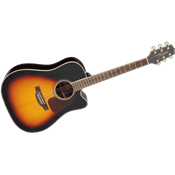 Takamine GD71CEBSB - dreadnought ctw electro brown sunburst