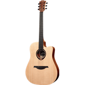 Lag T70DCE - Guitare électro-acoustique dreadnought pan coupé