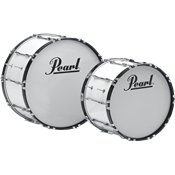 Pearl GROSSE CAISSE MARCHING COMP. 24x14 BLANC