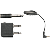 Shure EAADPT-KIT - kit ctrl volume +6.35 + avion