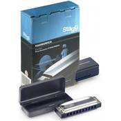 Stagg BJH-B20 C > Harmonica Diatonique Blues en DO majeur > 10 trous